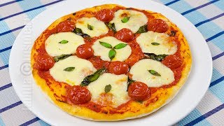 getlinkyoutube.com-Pizza margherita | JamilaCuisine