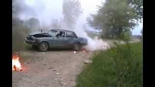 getlinkyoutube.com-#1000 The Cheviac destroys Wolf's burning house [Davidsfarm]