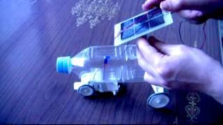 getlinkyoutube.com-A Solar Powered Toy Car (Handmade)