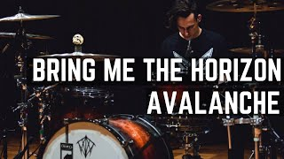getlinkyoutube.com-Bring Me The Horizon - Avalanche - Drum Cover