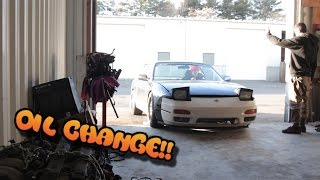 SR20 S13 OIL CHANGE