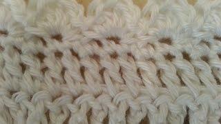 getlinkyoutube.com-Crochet Easy Elegant Baby Blanket Remake DIY tutorial