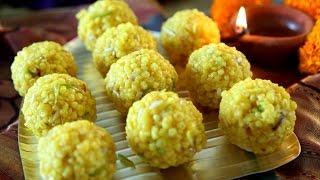 getlinkyoutube.com-Motichoor Laddu Recipe | Diwali Special Sweet Recipe | Masala Trails With Smita Deo