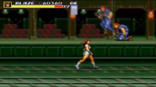 Streets of Rage 3 - Blaze - Stage 4 1/3