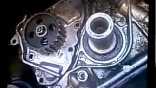 getlinkyoutube.com-Toyota Camry 5sfe Timing Belt & OIL PUMP replacement