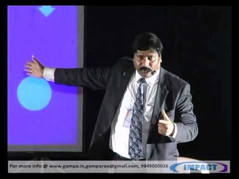 STAGE FEAR PART 1 by GAMPA NAGESHWER RAO at IMPACT 2012 HYDERABAD