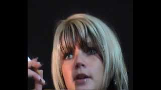 Marie 2 - Smoking in tight Biker Leather Pants - FULL VIDEO
