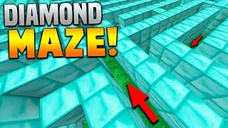 getlinkyoutube.com-THE DIAMOND MAZE!! | Minecraft CRAZY MAP with Preston & Vikkstar123