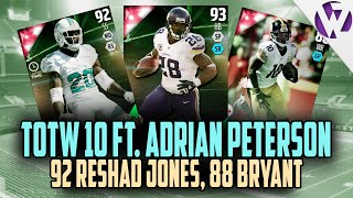 getlinkyoutube.com-Madden 16 TOTW 10 ft. TOTW ADRIAN PETERSON, 92 RESHAD JONES, 2nd TOTW MARTAVIS BRYANT