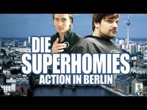 Die Superhomies in Berlin - Zu Besuch bei GIGA (mit Gronkh und Sarazar)