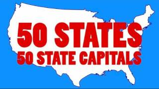 Learn the 50 US State Capitals and 50 State Abbreviations   50 States Song