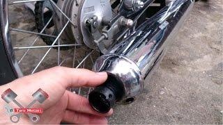 getlinkyoutube.com-Poner A Silbar Suzuki AX 100 Con Una Bala De Fusil Segunda Parte | ToroMotos