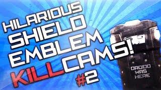 getlinkyoutube.com-Black Ops 2 Hilarious Shield Emblem Killcams and Reactions #2!