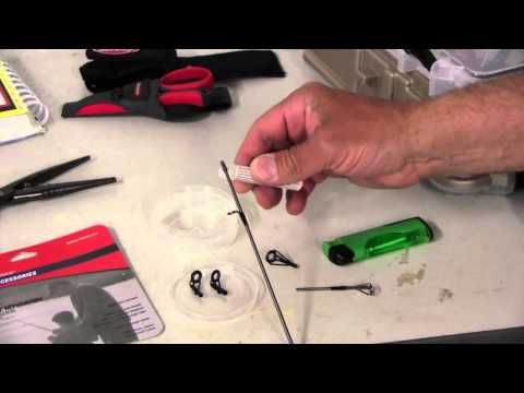 Repairing Broken Fishing Rod Tips