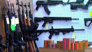 Preocupación en Kansas City por la facilidad en la compra de armas de fuego de largo alcance