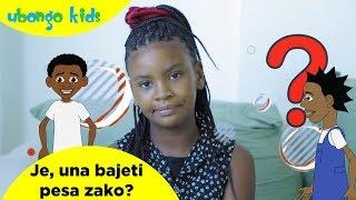 Je, una bajeti pesa zako? | Maswali ya Ubongo Kids | Katuni za Elimu kwa Kiswahili