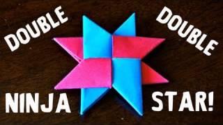getlinkyoutube.com-How to Make a Double Ninja Star (DIST-8) - Rob's World