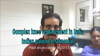 Total knee replacement India