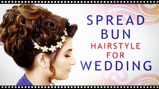 getlinkyoutube.com-Best Indian Wedding Hairstyle   Indian Bridal HairStyle Step By Step   Krushhh by Konica 2016 Videos