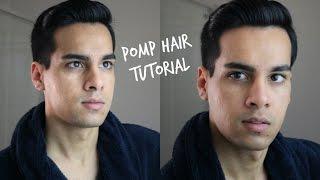 getlinkyoutube.com-Pompadour Side Part | Men's Hair Tutorial