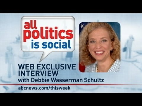 'This Week' Web Extra: Rep. Debbie Wasserman Schultz Answers Viewer Questions From Facebook, Twitter