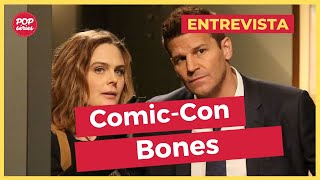 SDCC 2016: Emily Deschanel e David Boreanaz de Bones