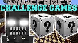 getlinkyoutube.com-Minecraft: ENDOSKELETON CHALLENGE GAMES - Lucky Block Mod - Modded Mini-Game