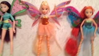 getlinkyoutube.com-Обзор моей коллекции кукол Winx и не только.