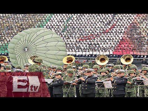 Desfile Militar del 16 de Septiembre Parte 1