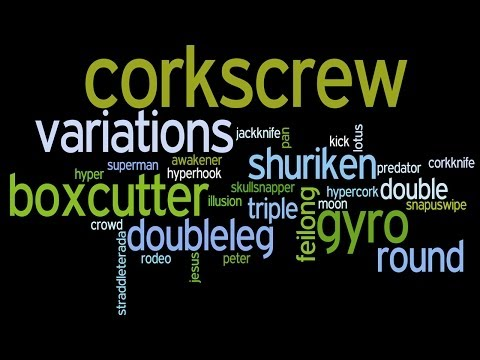 Tricking Expression: Corkscrew Variations