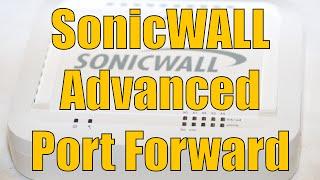 getlinkyoutube.com-Dell SonicWALL Advanced Port Forward