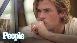 getlinkyoutube.com-Chris Hemsworth Talks Sexy To Us | Sexiest Man Alive 2014 | PEOPLE
