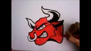getlinkyoutube.com-speed drawing sur papier (la vache qui rit pas) by KinGamingUp