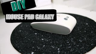 getlinkyoutube.com-DIY: Como fazer Mouse Pad GALAXY !
