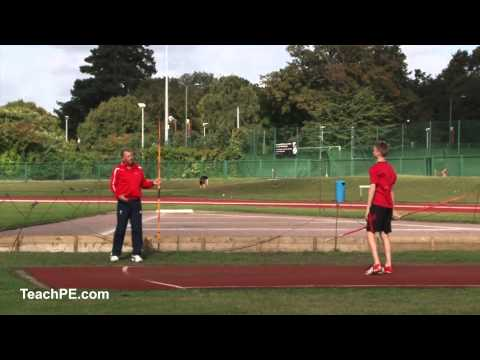 How to throw a Javelin - standing throw and common faults