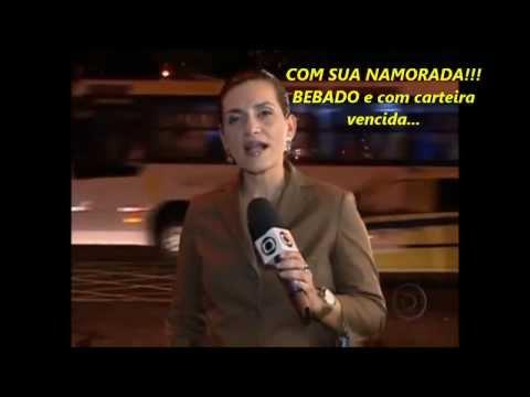 AÉCIO NEVES É FLAGRADO BEBADO E COM A CARTEIRA DE MOTORISTA VENCIDA...