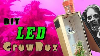 getlinkyoutube.com-DIY LED Grow Box w/ Carbon Filter - Build Instructions & Overview