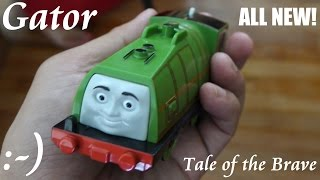 getlinkyoutube.com-All New Thomas & Friends Trackmaster GATOR - Tale of the Brave (Playtime)