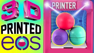 getlinkyoutube.com-DIY 3D Printed EOS Lip Balm! | How To Print Out A REAL EOS! | Watch Me Use A 3D PRINTER! | 4D EOS!