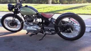 "getlinkyoutube.com-Royal Enfield Bobber: ""The Machismo"" (SOLD)"