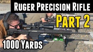 getlinkyoutube.com-Ruger Precision Rifle: 1000 yard Range Day with the 6.5 Guys
