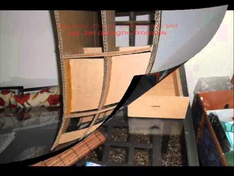 Come costruire mobili con il cartone fai da te mania for Pannelli di cartone