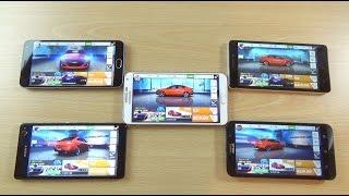 getlinkyoutube.com-Asphalt 8  - M2 Note VS Xperia C4 VS Note 3 VS K3 Note VS Zenfone 2 Gameplay Review!
