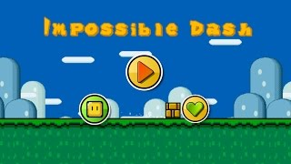 getlinkyoutube.com-Geometry Dash Style Game : Impossible Dash / Mario Game (All Clear)