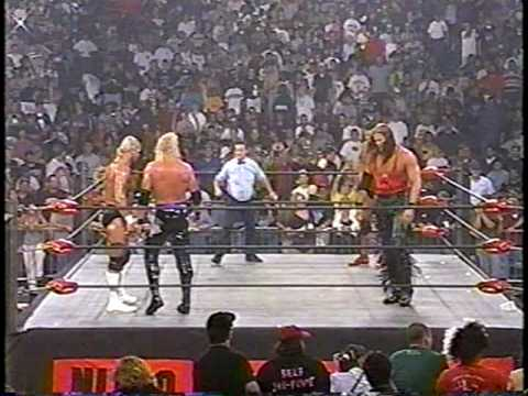 The Outsiders vs. Lex Luger & DDP [1of2] - WCW Monday Nitro 8/18/97 (HQ)