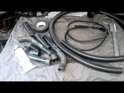 Новый соединительный шланг вторичного насоса подачи воздуха своими руками Порше Кайен Touareg 3.2