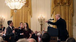 Beyaz Saray, Trump'a sert sorularıyla bilinen gazeteciye yasak koydu