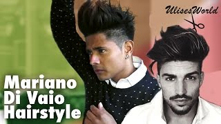 getlinkyoutube.com-How to do guys big hair /  Mariano Di Vaio /