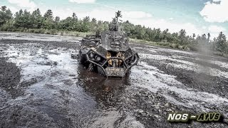 getlinkyoutube.com-Xtreme Mud Trail 2  (Can Am Renegade 1000, Outlander 1000, Yamaha Grizzly)