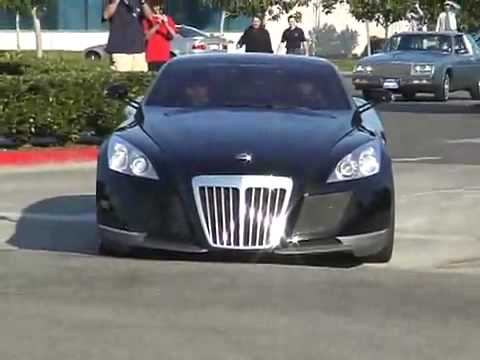 Maybach Exelero accelerating